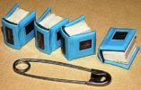 Miniature books by Anatoly Konenko