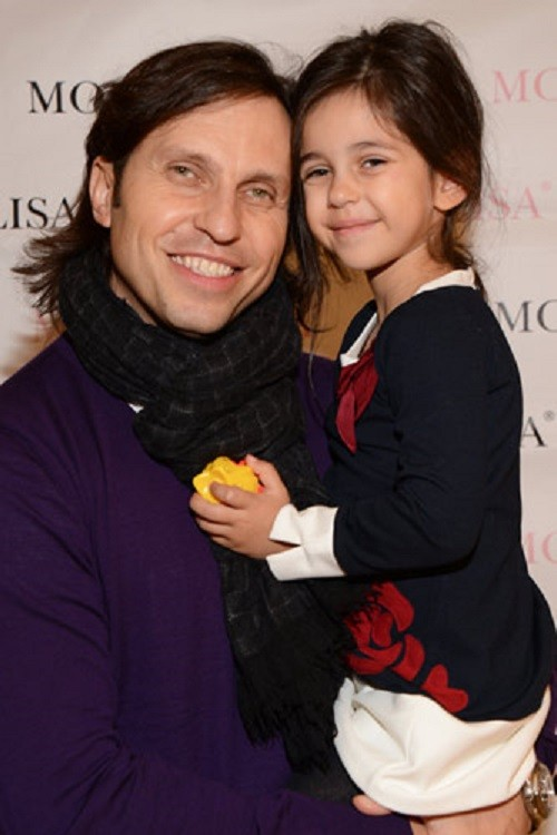 Aleksandr Revva and his daughter Alice