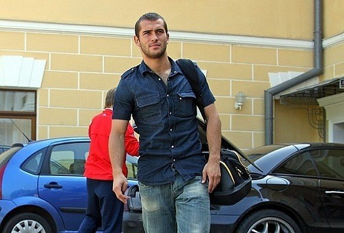 footballer Alexandr Kerzhakov