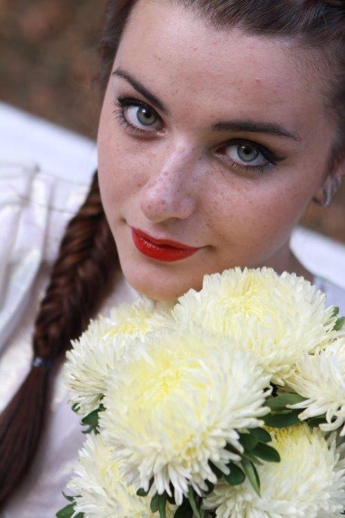 Russian actress Anastasia Sivaeva