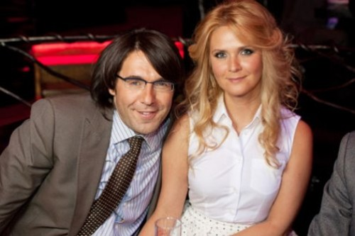 Andrei Malakhov and Natalia Shkuleva