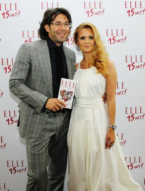 Andrei Malakhov with Natalia Shkuleva