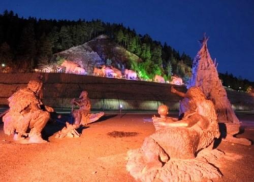 Prehistoric mammoths of Khanty-Mansiysk Archeopark