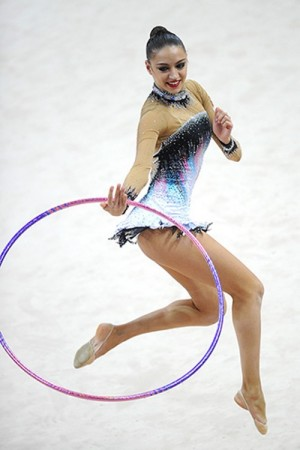 Exercise with hula-hoop, Evgenia Kanaeva