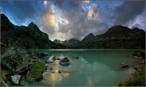 Altai lake Darashkol