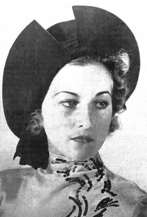 Evgenia Dashkevich Miss Russia 1938