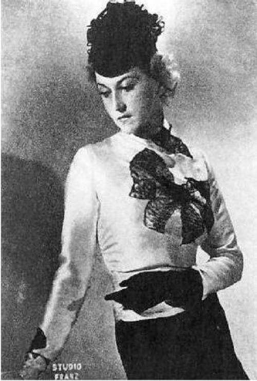 Evgenia Dashkevich Miss Russia 1938
