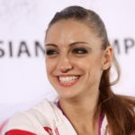 Happy and positive, Evgenia Kanaeva