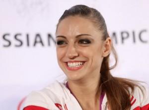 Happy and positive, Evgenia Kanaeva