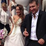On the wedding day. Evgenia Kanaeva and Igor Musatov