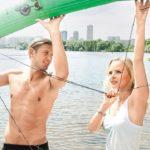 Bachelor Evgeniy Levchenko and Olesya Ermakova