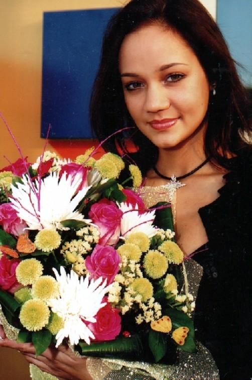 Olympic champion gymnast Irina Chashchina