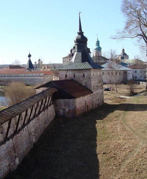 Kirillo-Belozersky Monastery Gluhaya (Kotelnaya) tower