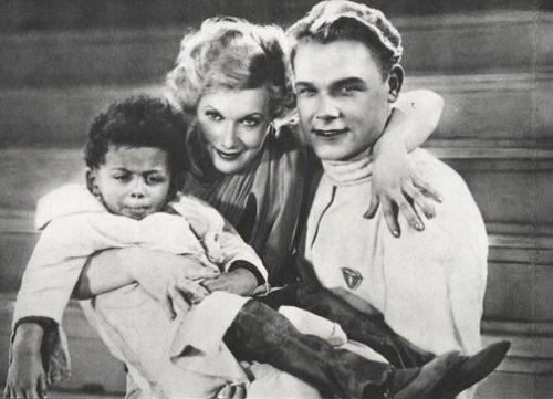 """Lyubov Orlova in 1936 film """" Circus"""""""