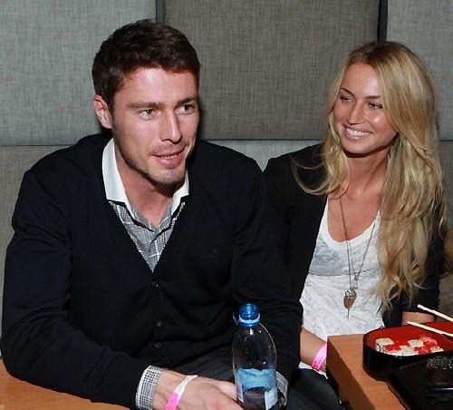 Marat Safin and Anna Druzyaka
