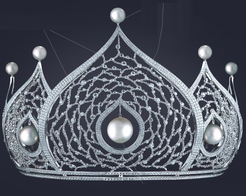 Miss Russia crown