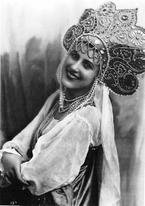 Nina Pohl Miss Russia 1932