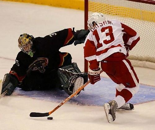 Russian ice hockey player Pavel Datsyuk