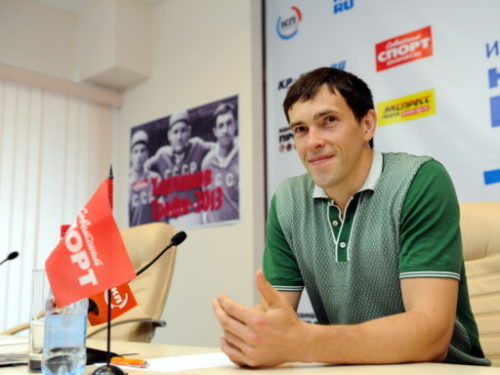 Russian ice hockey player Pavel Datsyuk