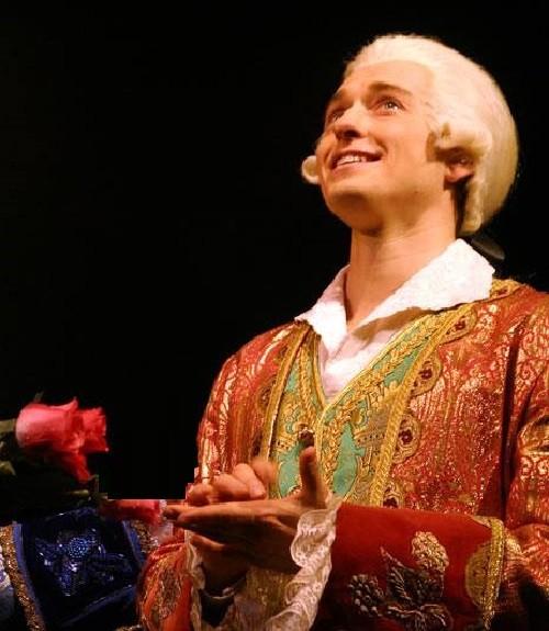 Sergey Bezrukov as Mozart