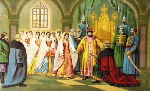 bride's choice of Tsar Alexei Mikhailovich