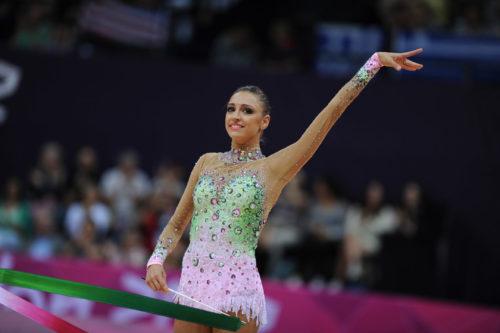 Olympic champion Yevgeniya Kanayeva