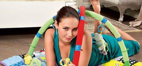 Russian gymnast Laysan Utyasheva