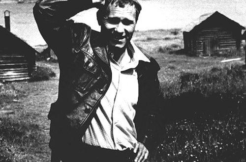 Russian actor and writer Vasily Shukshin