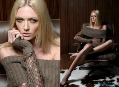 Russian model Anastassija Makarenko