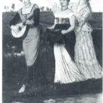 Arnold Bocklin. Spring (The Song of Spring, Three Girls Singing)