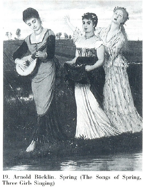 Spring (The Song Of Spring, Three Girls Singing)