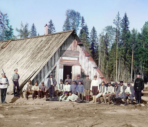 Austro-Hungarian POWs (prisoners of war) in Russia, 1915