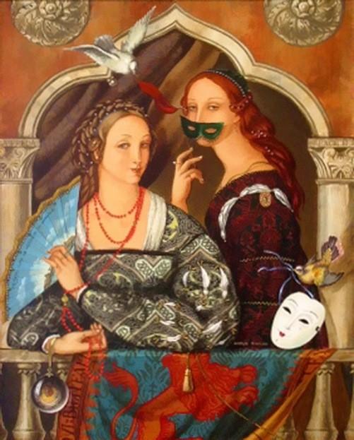 Carnival of Venice - Easy Prey, oil