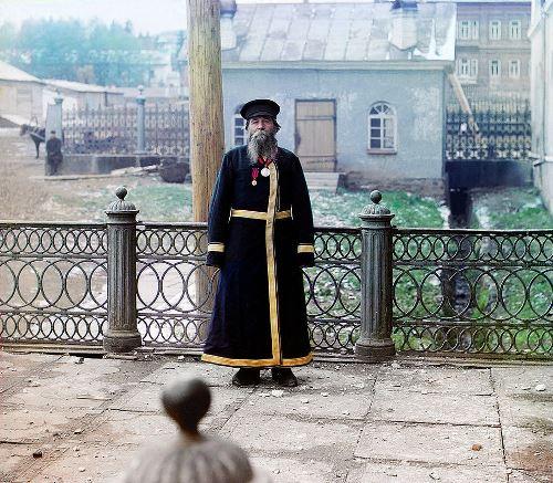 Municipal worker, 1907