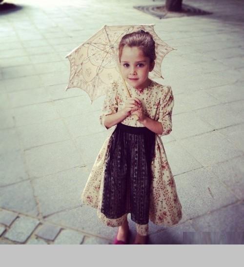 Daughter of Ulyana Sergeenko - Vasilisa