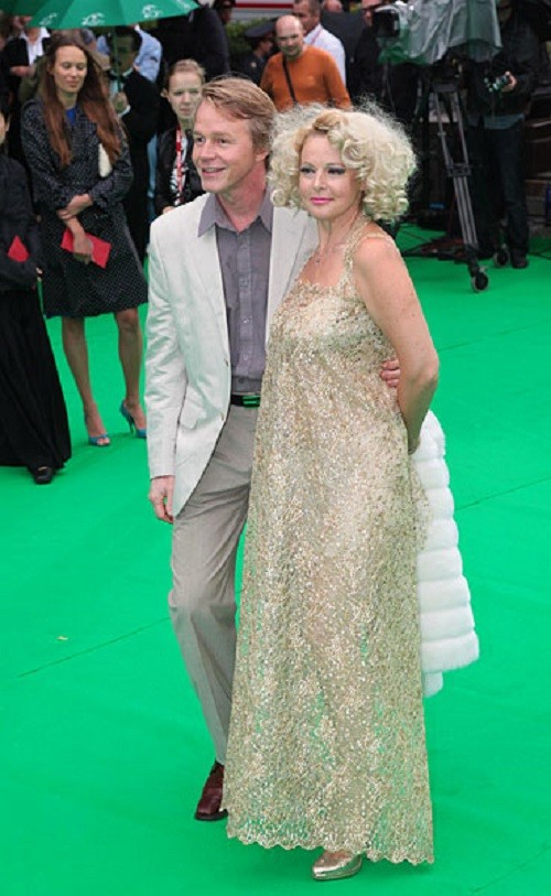 Elena Kondulaynen at the opening of the 31st Moscow International Film Festival, June 19, 2009