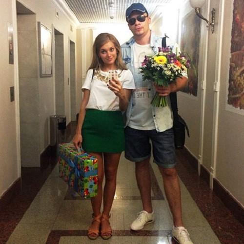 Garik Kharlamov and Kristina Asmus