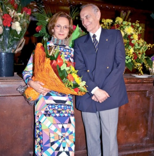 Irina Kupchenko and Vasily Lanovoy