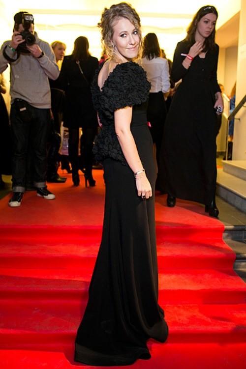 Ksenia Sobchak at 'Glamour Woman of the Year', November 2012