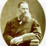 Russian painter Fyodor Petrovich Tolstoy