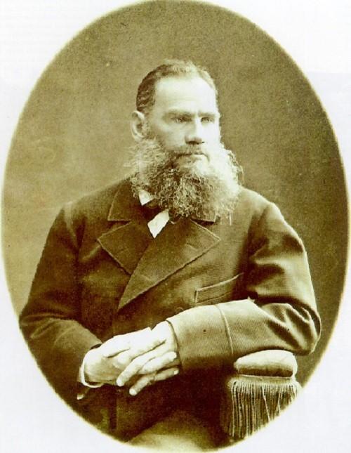 Russian Genius Leo Tolstoy, 1876