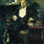 Mikhail Vrubel. Portrait of Savva Mamontov, 1897