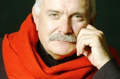 Russian film director Nikita Mikhalkov