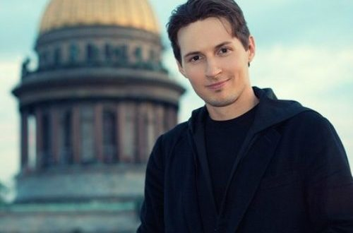 Founder of Russian social site VKontakte Pavel Durov