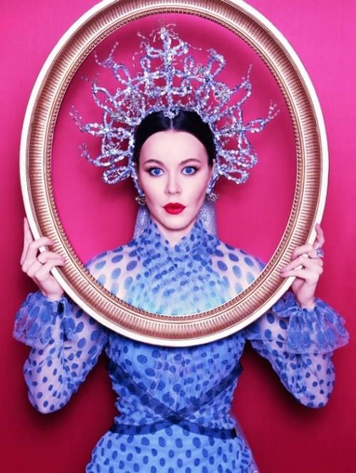 Russian fashion designer Ulyana Sergeenko
