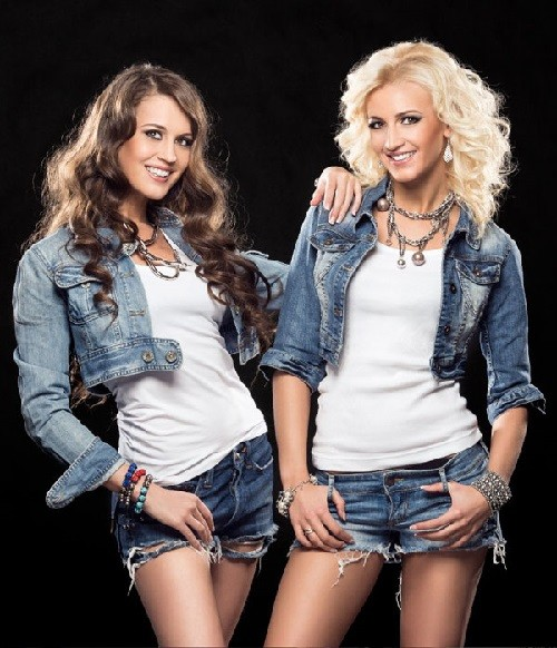 Sisters - Anna Buzova and Olga Buzova, participants of Dom-2