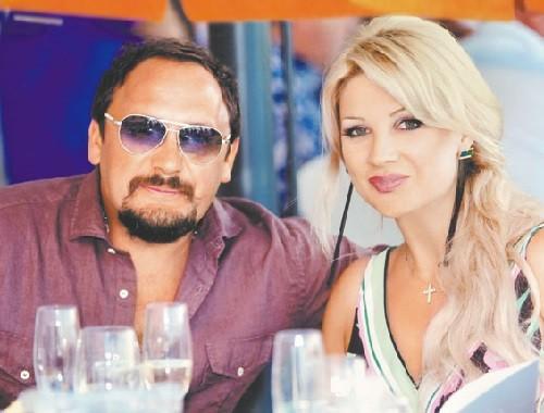 Stas Mikhailov and his wife Inna