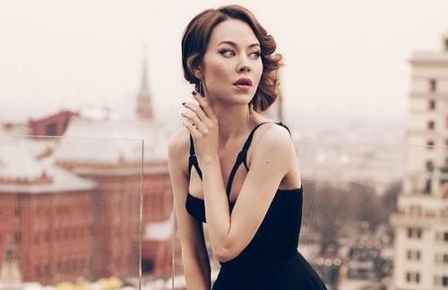 Ulyana Sergeenko for Elle UK