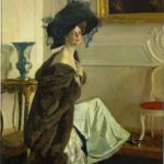Valentin Serov. Poprtrait of Pincess Olga Orlova. 1911. Oil on canvas. Tretyakov Gallery, Moscow