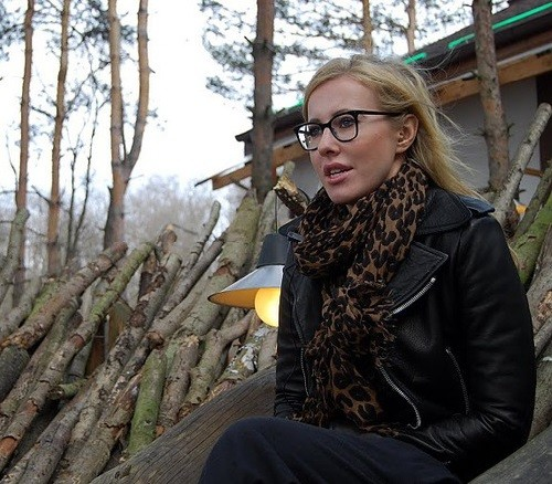 Xenia Sobchak, host of Dom 2 from 2004 till 2011